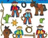 KPM Cowboys digital clipart