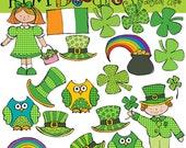 KPM St Patricks Day fun Digital Clip art
