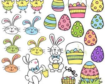 KPM Easter digital clip art
