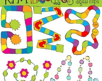 KPM  Game boards Digital Clip art
