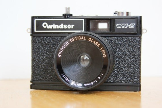 Vintage Windsor WX-3 Film Camera 1970s  Lomo