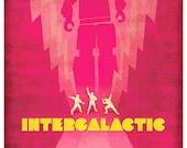 Intergalactic - Beastie Boys - 12x16 Print