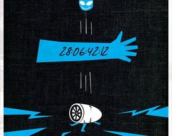 Donnie Darko - Minimal Style 12x16 Print