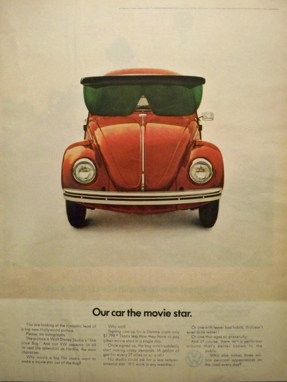 vw volkswagen magazine ads bug ad classic publicitarios beetle advertising carteles focus 1960s vocho pop cartel cool advert advertisement pub