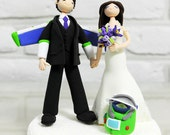 Toy story jet pack wedding cake topper decoration gift