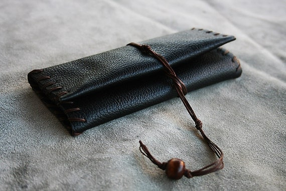 The Classic One Leather Tobacco Pouch