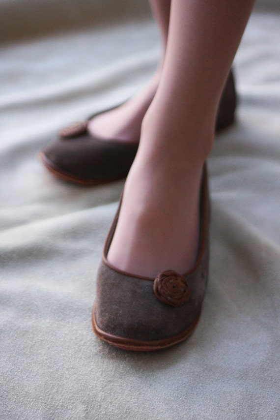Modern Romance - Handmade Leather flat shoes - CUSTOM FIT