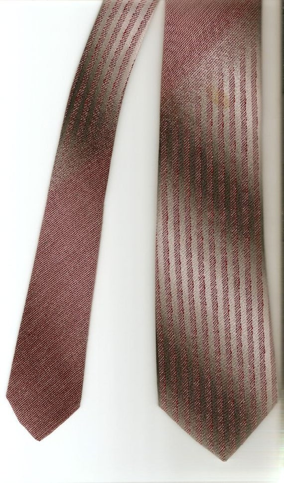 vintage wembley grey tie necktie for black or grey by