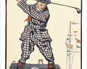 """Golf poster - US Open print - 13""""x19"""" or 24""""x36"""" - Golf art print - US open Golf Tournament"""