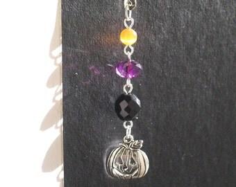 Halloween Bookmark -  Bejeweled Halloween Shepherd Hook Bookmark