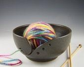 Charcoal Yarn Bowl