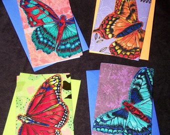 Butterfly Quilted Greeting Card