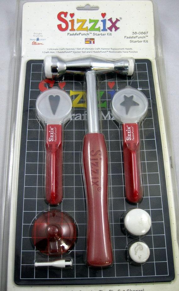 Sizzix Paddle Punch Starter Kit