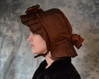 Copper Colored Victorian Bonnet