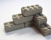 Concrete Building Blocks (Set of 6)