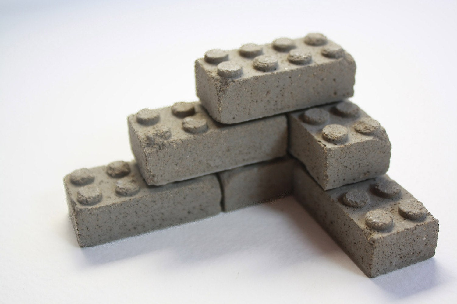 Building With Cinder Blocks : Concrete building blocks set of