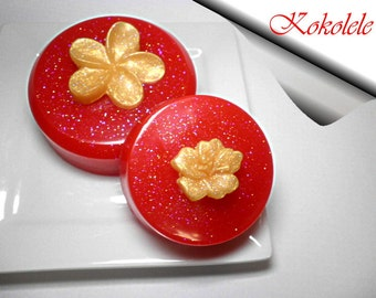 Red Soap Set of 2 pieces