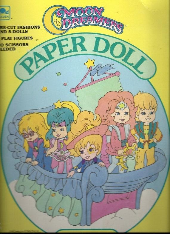 Moon Dreamers Vintage Paper Doll, Hasbro 1987