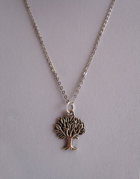 Tree of Life Tibetan Silver Metal Necklace