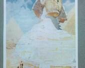 The Sphinx - Vintage 1907 Print - 4x6