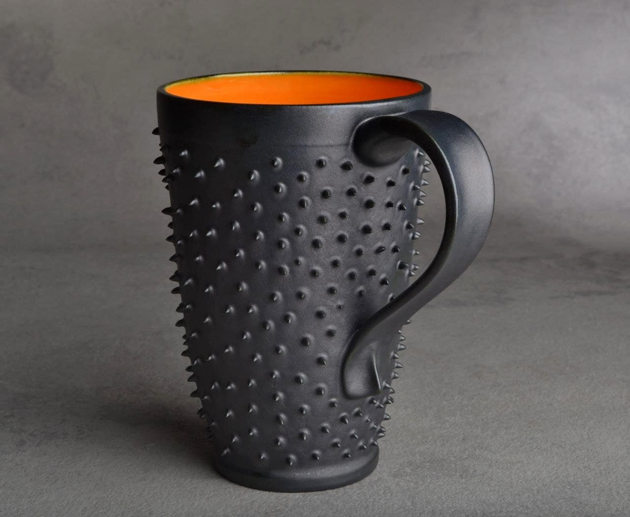 Tall Spiky Coffee Mug Made To Order Dangerously Spiky Travel