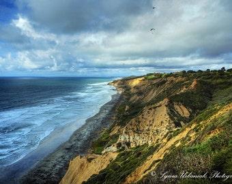 Beach Photography Landscape Photography Cliffs Photography Pacific Ocean Coast wall decor home decor  Fine Art Photography Print