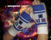 FLEECE Star Wars R2-D2 Fingerless Gloves, droid