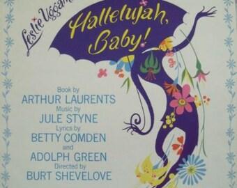 1967 My Own Morning Hallelujah Baby Jule Styne Song Book Sheet Music
