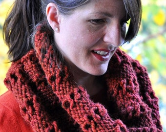 Country Cowl Knitting Pattern