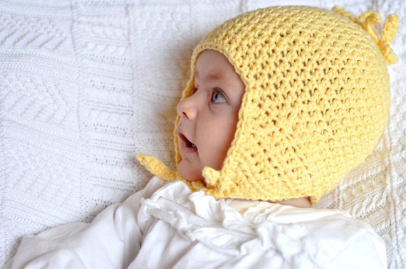 Free Crochet Pattern Toddler Earflap Hat : Crochet Pattern: Baby Earflap Hat for Boys and Girls PDF