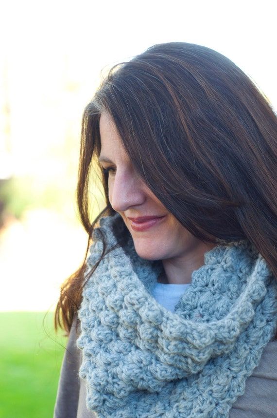 Cowl Pattern: Crochet Sedge Stitch Cowl and Maxi Cowl (PDF DOWNLOAD)