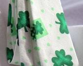 Boy's Neck Tie Green Shamrock St Patricks