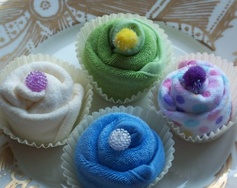 Baby Washcloth Favors