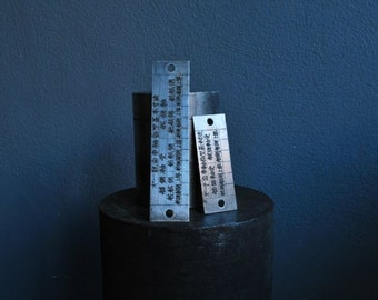 The Ship Builders Device Ruler, Measuring device