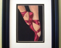 Coupe Original Acrylic Painting Ballet