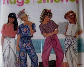 Simplicity 7268 Girls Pull on Pants Top Sewing Pattern Breast 25 to 32