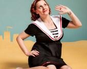 Rockabilly maternity dress / Beach Mom