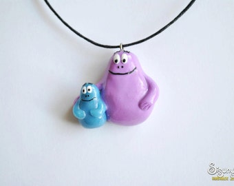 Barbapapa Necklace