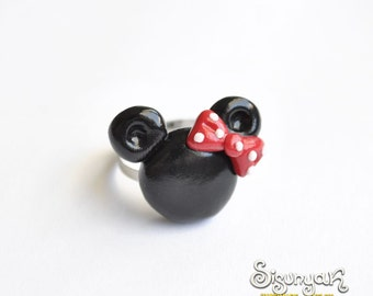 Minnie Mouse adjustable ring