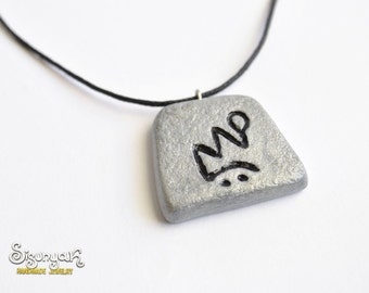 ZOD or JAH Rune Necklace/ Keychain from Diablo Game