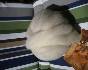 Alpaca Roving White Alpaca Fiber Spinning Fiber 1 or 2 oz