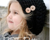 CROCHET PATTERN-Zoie Slouchy (Toddler, Child, and Adult sizes)