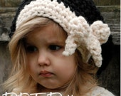 Crochet PATTERN-The Viyla Slouchy (Toddler, Child, and Adult sizes)