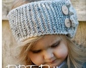 Knitting PATTERN-The Dawsyn Warmer (Toddler, Child, and Adult sizes)