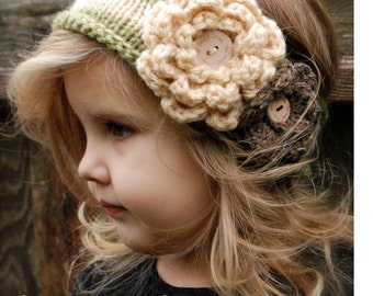 Knitting PATTERN-The Nataleigh Warmer (Toddler, Child, and Adult sizes)