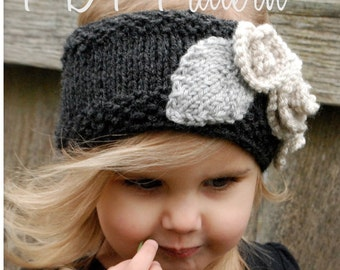 Knitting PATTERN-The Tanzie Warmer (Toddler, Child, Adult sizes)