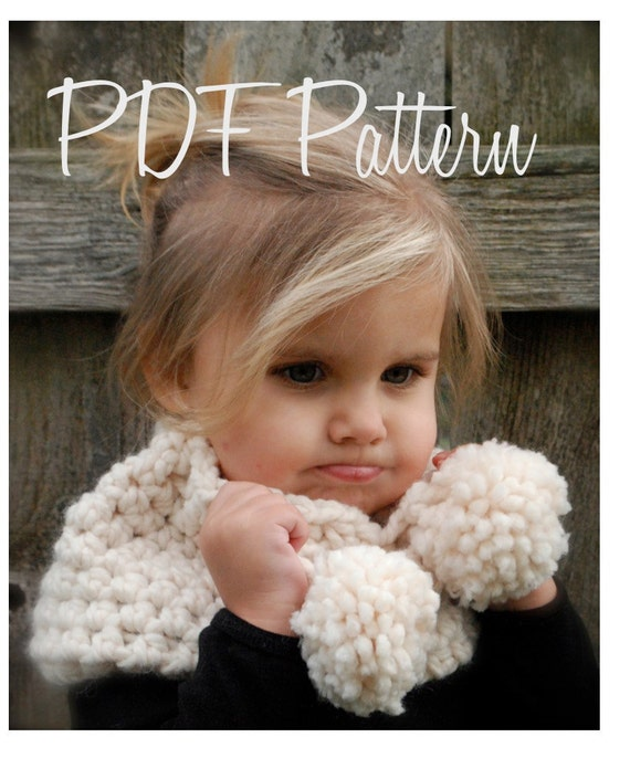 CROCHET PATTERN-The Bella Warmer (Toddler, Child, Adult sizes)