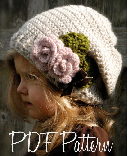 Crochet PATTERN-The Nala Slouchy (Toddler, Child, Adult sizes)