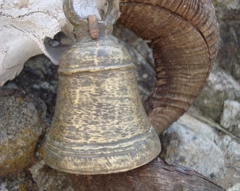 an Indian old temple bell  'bell-wether' ............