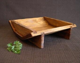 Artisan Wood Bowl - Wood Bowl Centerpiece